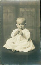 Hanley. 'Irene Poole' Baby Eating Biscuit by   H Bentley Humphriss  RH.539