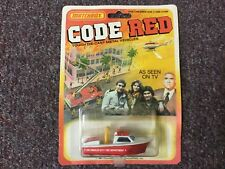 New Sealed 1981 Matchbox Code Red Boat Fire Department