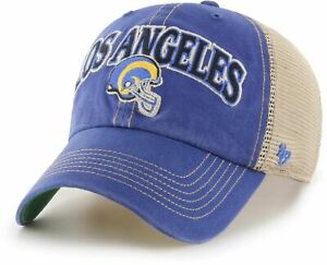 LOS ANGELES RAMS NFL SNAPBACK RELAXED DAD TRUCKER TUSCALOOSA CAP HAT NWT! '47