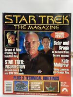 Star Trek The Magazine May 1999 #1 Premiere Issue-Patrick Stewart Borg Next Gen
