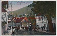 (107321) AK Wildemann im Harz, Markt mit historischer Linde, 1910er