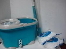 360° Spin Rotate Magic Mop & Bucket & 2 Heads as seen on tv Green No foot Pedal