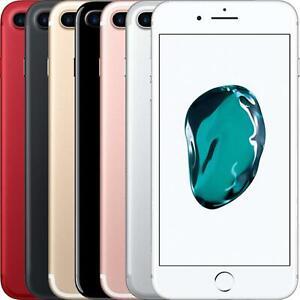 Apple iPhone 7 Plus 32GB 128GB 256GB Black Silver Rose Gold Unlocked Mobile Good