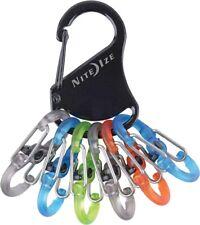 New listing  Nite Ize KLKP-01-R3 Carabiner Clip Keyrack Locker Stainless  Camping