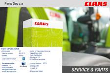 Claas Parts Doc 2.1 Parts Catalog + Claas Webtic Offline 08.2017 Repair Catalog