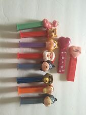Pez Lot Of 10. Two Have No Feet Made In Hungry & Solveria
