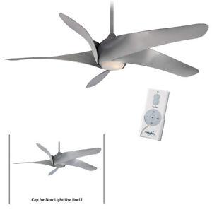"Minka Aire F905L-SL SIlver Artemis XL5 62"" Ceiling Fan w/Remote & LED Light"