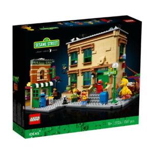 LEGO IDEAS 123 Sesame Street 21324 NEW Sealed