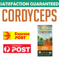 Host Defense Cordyceps Fungi Perfecti Energy Support 60 Vegetarian Capsules AU