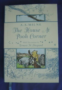 THE HOUSE AT POOH CORNER ~ A.A. Milne ~ DUTTON CHILDREN'S BOOK ~ HBDJ