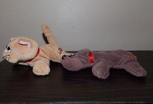 """Pound Puppy Puppies Brown  Purries Tiger Mattel Tonka  Vintage 8"""""""