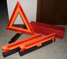 Triangle Warning Flare Kit By James King & Co - Model 1005 USA