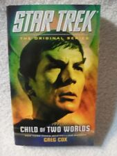 Star Trek the Original: Child of Two Worlds by Greg Cox (2015, Paperback) [Misc.