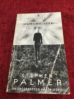 Memory Seed By Stephen Palmer Signed Uncorrected Proof Rare
