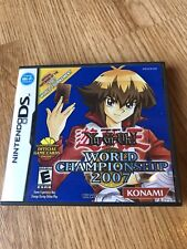 Yu-Gi-Oh World Championship 2007 (Nintendo DS, 2007) Works VC2