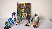 Ben 10 Figures + Secret of the Omnitrix DVD Bundle / Joblot