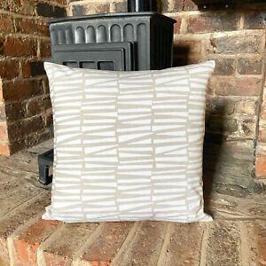 1032. Ashley Wilde Scandi Natural 100% Cotton Cushion Cover Various sizes