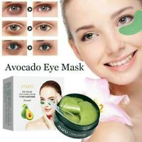60Pcs * Avocado Eye Mask Moisturizing Anti Wrinkle Dark Circles Eye Mask A0S5