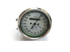 Brand New Royal Enfield Smith Speedometer 0-160 Km/hr White (US Econ)