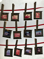 Lot Vintage 1970s Projector Slides Ecuador to San Jose World Trip Memory