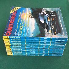 Lotto 12 Riviste/Magazine QUATTRORUOTE ANNATA 1988 COMPLETA !!!