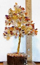 "Multi-Color Gem Tree, 10+"" Tall, Gemstones Can Be Moved to your Liking, 300 Gems"