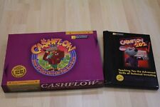 BRAND NEW CLASSIC RICH DAD CASHFLOW 101 & 202 BOARD GAME WITH FINANCIAL 5CDs