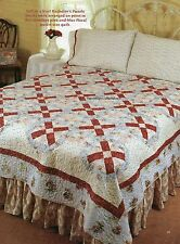 French Kisses Quilt Pattern Pieced CT