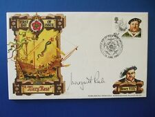 1982 THE MARY ROSE TRUST FDC SIGNED BY MARGARET RULE - PORTSMOUTH PM