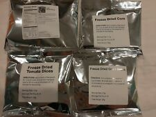 Long Term Emergency Food Freeze Dried Vegetables 20-30 Year Shelf Life
