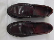 Bass mens penny loafers burgundy sz 7.5 M