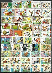 Lot de timbres Football 1