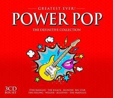 POWER POP-GREATEST EVER feat. Blink 182, Blondie, 10cc, u.a. 3 CD NEU