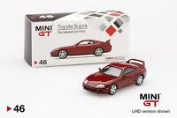 Toyota Supra (JZA80) Renaissance Red , Scale 1:64 by Mini GT( RHD Version)