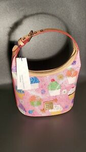 NWT Dooney & Bourke Cupcakes Limited Edition Bucket Bag Purse Pink