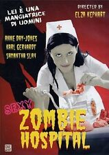 DVD - NUOVO SIGILLATO - ZOMBIE HOSPITAL, CON ANNE DAY JONES, AUDIO ITA/INGL,16/9