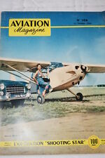 AVIATION MAGAZINE N°108-1954-BATAILLE D'ANGLETERRE PASOTTI AIRONE F6