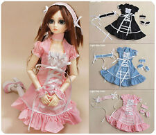 1/3 bjd 56-58cm SD13/SD10 Girl Doll pink color dress set dollfie Luts DZ ship US