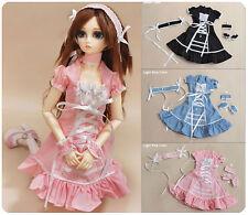 1/3 bjd 56-58cm SD13/SD10 Girl Doll pink color dress set dollfie Luts DZ ship US
