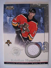 Kristian Huselius 2002-03 Pacific EXCLUSIVE GAME WORN JERSEY