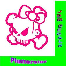 Kitty Skull hater JDM Sticker Adhesivo OEM PS Power Fun like Shocker