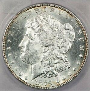 1879-S Reverse Rev of 78 Top 100 Variety Morgan Silver Dollar ICG MS63