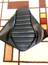 SUZUKI S40 Boulevard 2005-2017  Black Pleated Custom Made Motorcycle Seat Cover