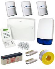 Wired Intruder Burglar Alarm System PROFESSIONAL Kit LCD Keypad BOSCH PIRs