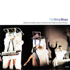"PET SHOP BOYS Where the Streets Have No Name w 12"" DANCE MIX CD U2 DAVID MORALES"