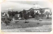 RPPC High School at Corning, California Eastman Photo 1952 Vintage Postcard
