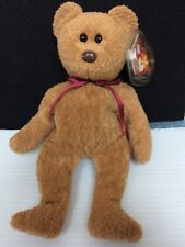 """TY Beanie Baby """"Curly"""" Bear Retired with Errors"""