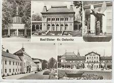 Ansichtskarte Bad Elster - Marienquelle/Kurhaus/Badehaus/Elsterbrunnen/Badeplatz