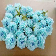 10pcs Artificial Flowers Silk Floral Latex Real Touch Rose Wedding Decoration