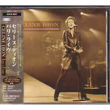 CD Céline DION	Live a Paris Press japon Feat Jean-Jacques Goldman	 NEUF